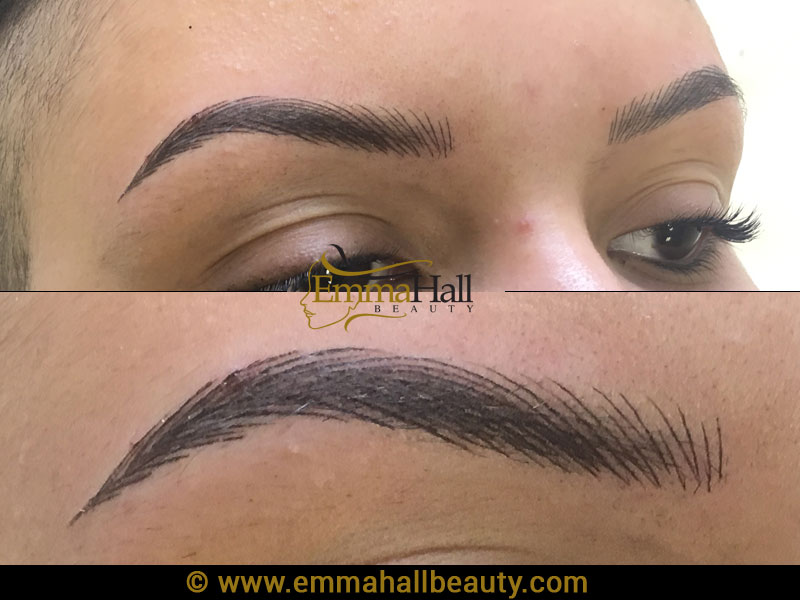 Permanent Eyebrows Emma Hall Beauty Permanent Makeup Birmingham